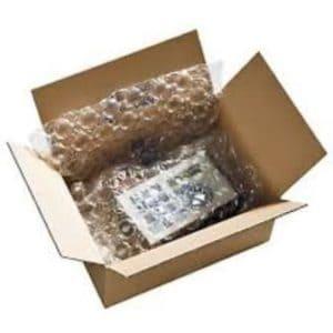 La possibilité d'emballer les objets fragiles dans des caisses appropriées